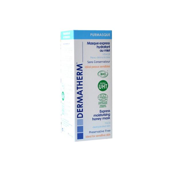 Purmasque - Masque express hydratant Visage au miel – 50ml – Dermatherm