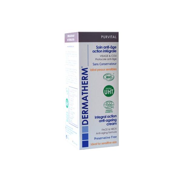 Purvital - Soin anti-âge action intégrale Visage et cou – 50ml – Dermatherm