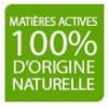 Matières actives 100% d'origine naturelle