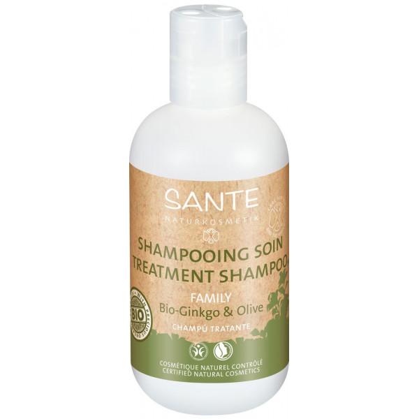 Shampooing Gingko et Olive bio - 200 ml - SANTE Family