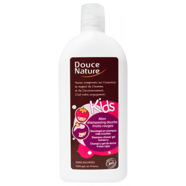 Shampooing douche Kids Fruits rouges - Douce Nature - 300ml