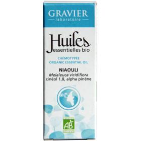 Niaouli AB - Feuilles - 10ml - Huile essentielle Laboratoire Gravier - Vue 2