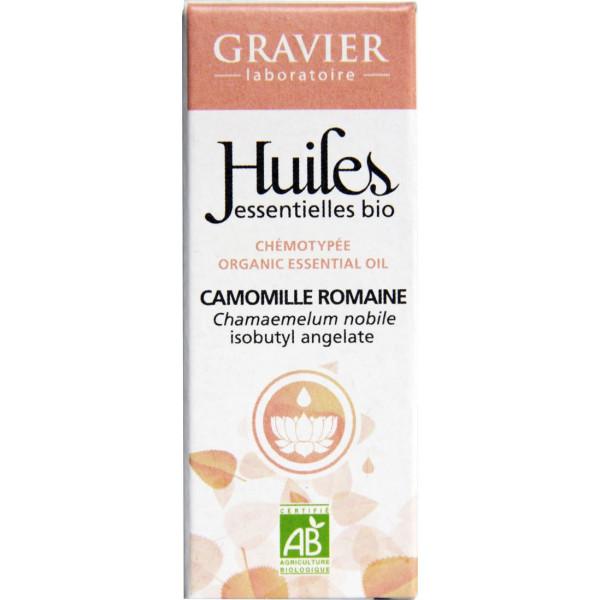 Camomille romaine AB - Fleurs - 5 ml - Huile essentielle Laboratoire Gravier - Vue 2