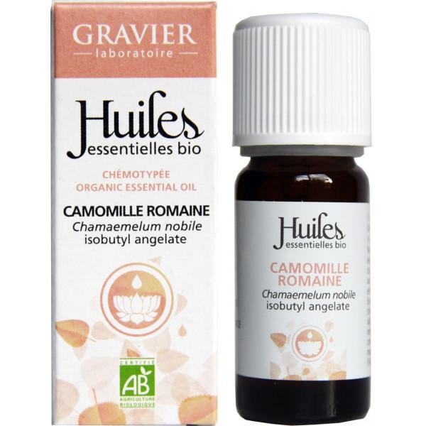Camomille romaine AB - Fleurs - 5 ml - Huile essentielle Laboratoire Gravier - Vue 3