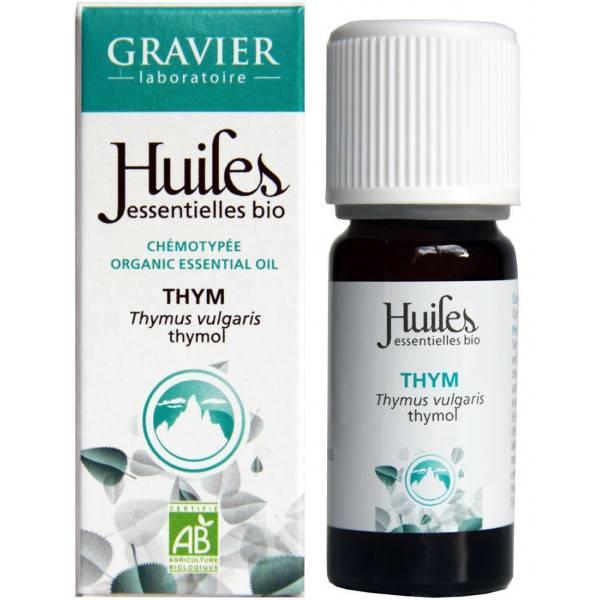 Thym à thymol AB - Plante fleurie - 5ml - Huile essentielle Laboratoire Gravier - Vue 3