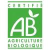 Logo AB pour l'huile essentielle de géranium - Plante -10 ml - Huile essentielle Laboratoire Gravier