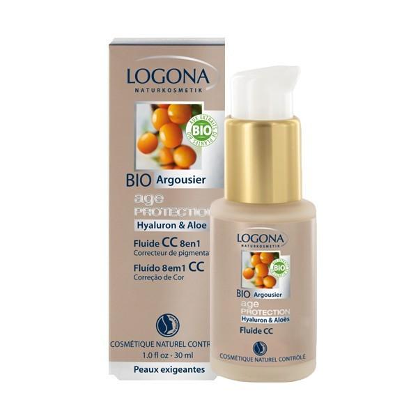 Fluide CC 8 en 1 Age Protection - Logona - 30 ml - Vue 2