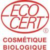 Logo Ecocert pour le savon crème à la Rose sauvage bio - Sodasan - 100g