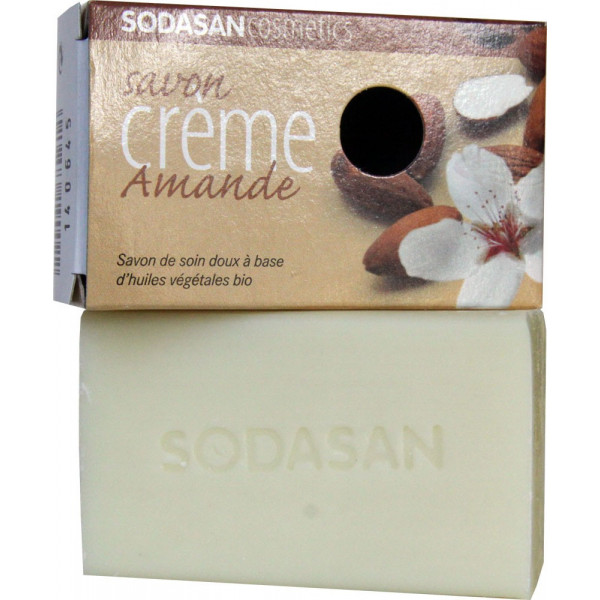 Savon crème Amande bio - Sodasan - 100g - Vue 2