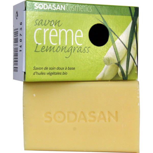 Savon crème Lemongrass bio - Sodasan - 100g - Vue 2