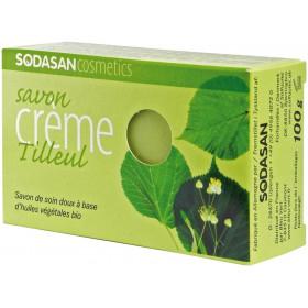 Savon crème au Tilleul bio - Sodasan - 100g