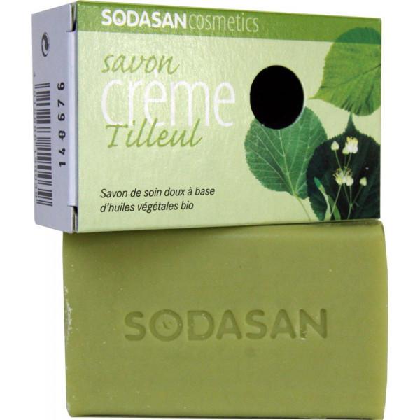 Savon crème au Tilleul bio - Sodasan - 100g - Vue 2