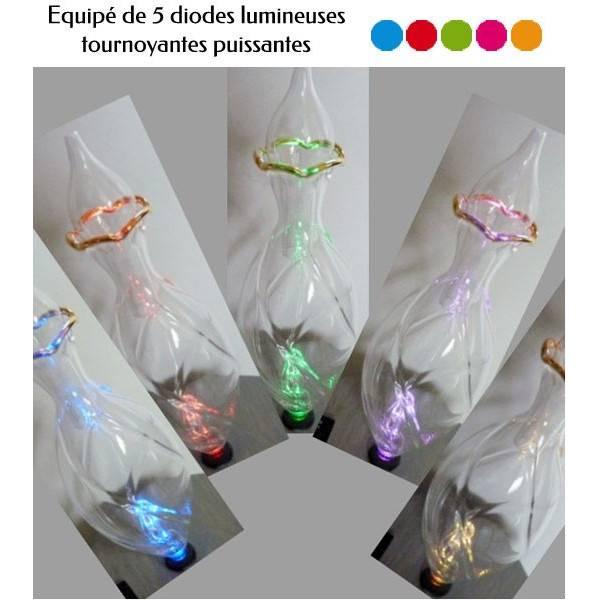 Détail diodes lumineuses du diffuseur Pomme Ambre