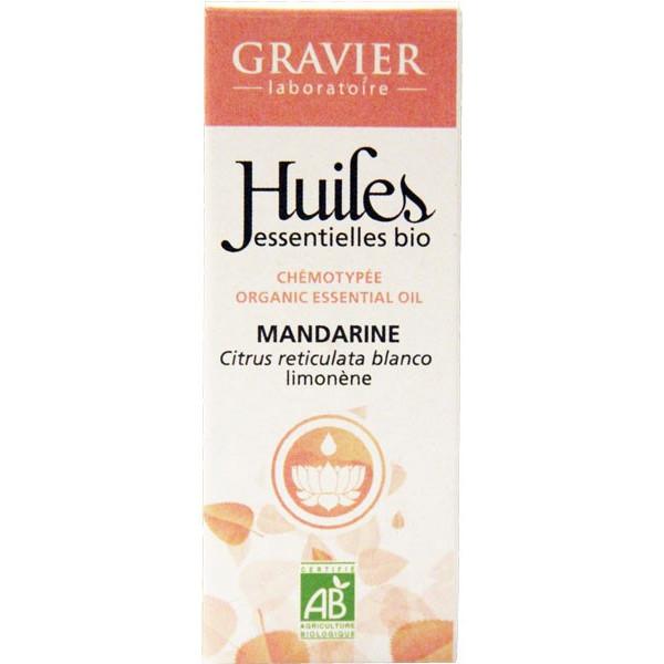 Mandarine verte Bio AB - Zeste - 10ml - Huile essentielle Laboratoire Gravier - Vue 2