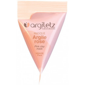 Berlingot masque argile rose – 15ml – Argiletz