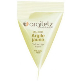 Berlingot masque argile jaune – 15ml – Argiletz