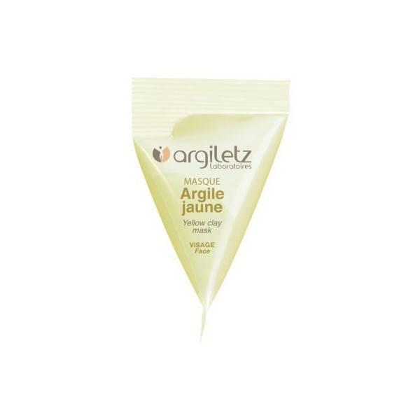 Berlingot masque argile jaune – 15ml – Argiletz