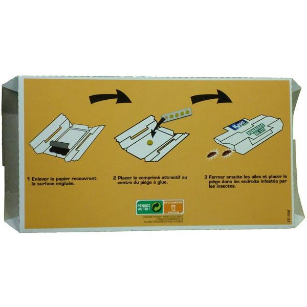 Détail pour le pièges à punaises de lit x5 - Kapo Vert