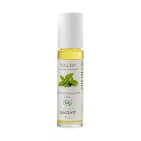 Roll on Mal des transport/tête bio Direct Nature 10 ml