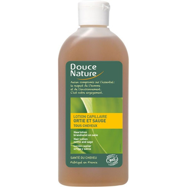 Lotion capillaire Ortie et Sauge – 200 ml – Douce Nature