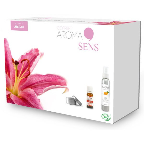 Coffret cadeau Aroma Sens – Direct Nature
