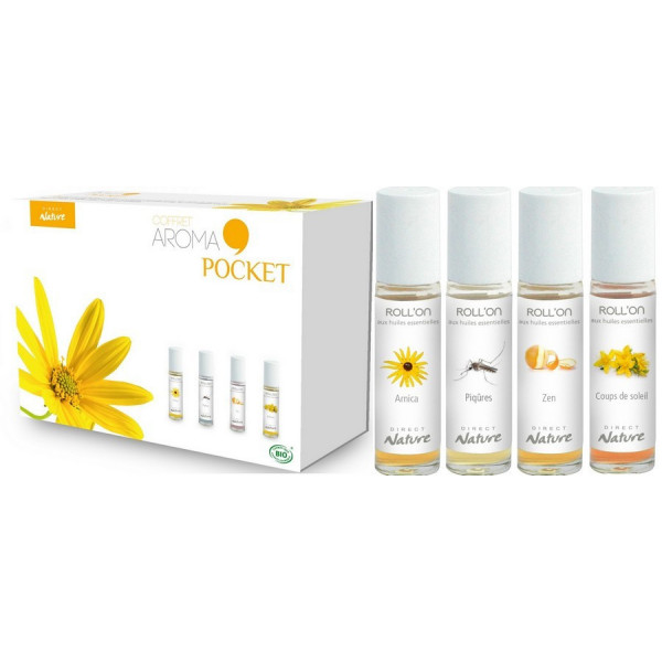 Détail du coffret Aroma Pocket Direct Nature
