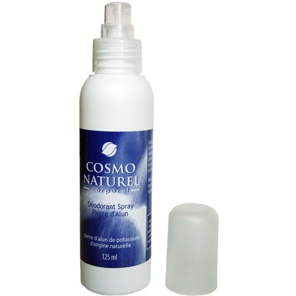 Déodorant spray Pierre d'Alun origine naturelle – 125ml – Cosmo Naturel - Vue 2