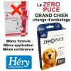 Changement d'emballage pour les pipettes Zéro Puce Grand Chien - Héry