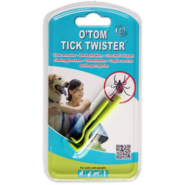 2 crochets tire-tiques - O'TOM-Tick Twister pour chiens et chats - Vue 3