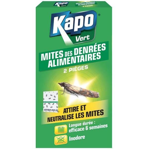 Piège mite alimentaire – x2 – Kapo Vert