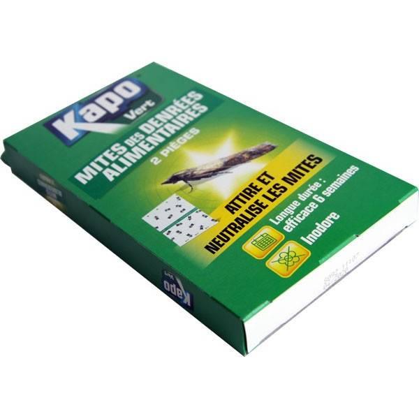 Piège mite alimentaire – x2 – Kapo Vert - Vue 2