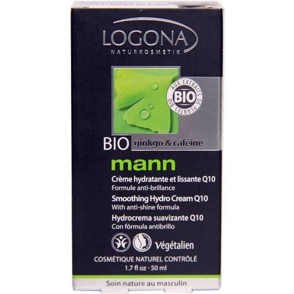 Crème hydratante et lissante Q10 - 50ml - Logona Mann - Vue 2
