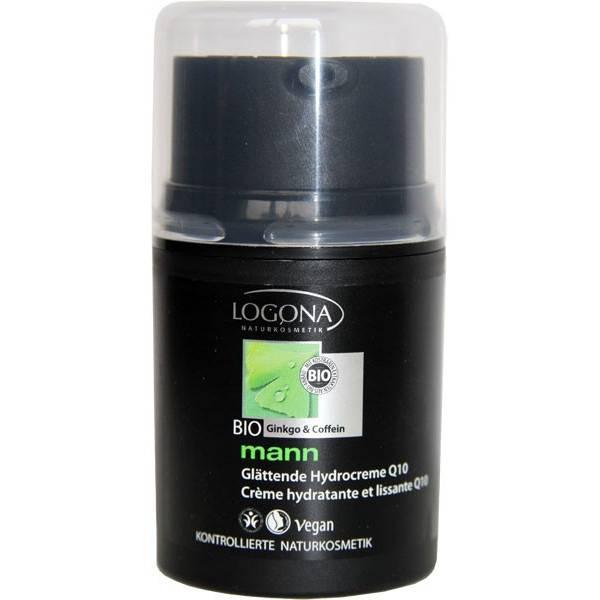 Crème hydratante et lissante Q10 - 50ml - Logona Mann