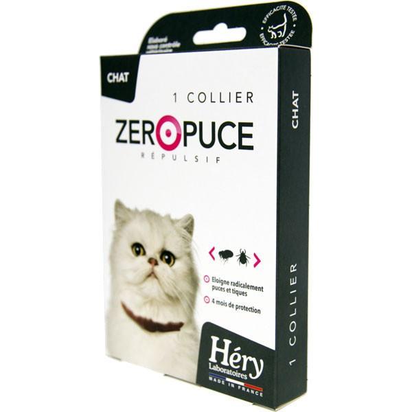 Collier répulsif ZéroPuce pour chat - Laboratoire Héry - Vue 2