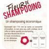 Détails Fleur de Shampooing solide cheveux normaux – 85gr – Douce Nature