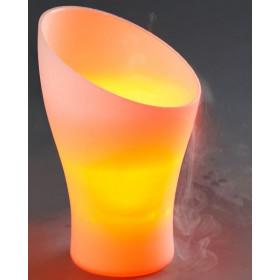 Fontaine brumisante Modèle Vase - changement de couleurs