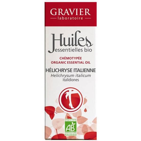 Hélichryse italienne Bio - 2 ml - Huile essentielle Laboratoire Gravier