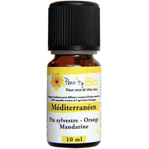 Méditerranéen - 10 ml - Synergie bio - Penntybio