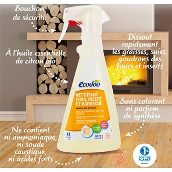 Détails pour dégraissant four, insert et barbecue - 500ml - Ecodoo
