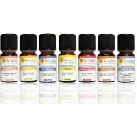 Nos 7 flacons d'huiles essentielles bio