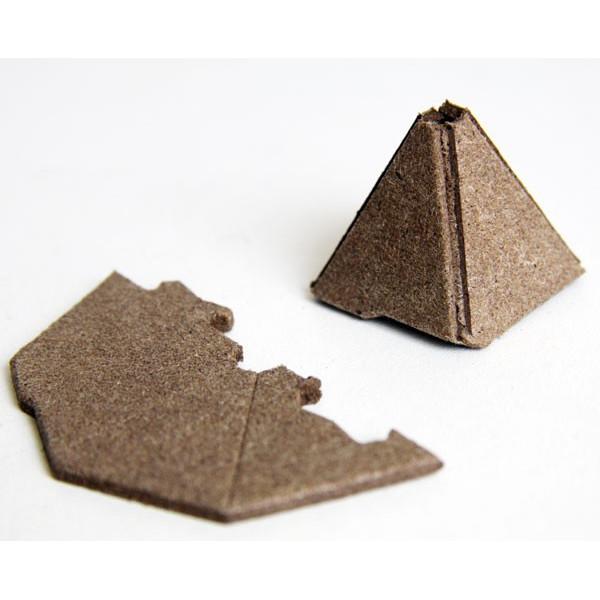 Détail sur la pyramide fumigène anti-insectes naturel Volkano