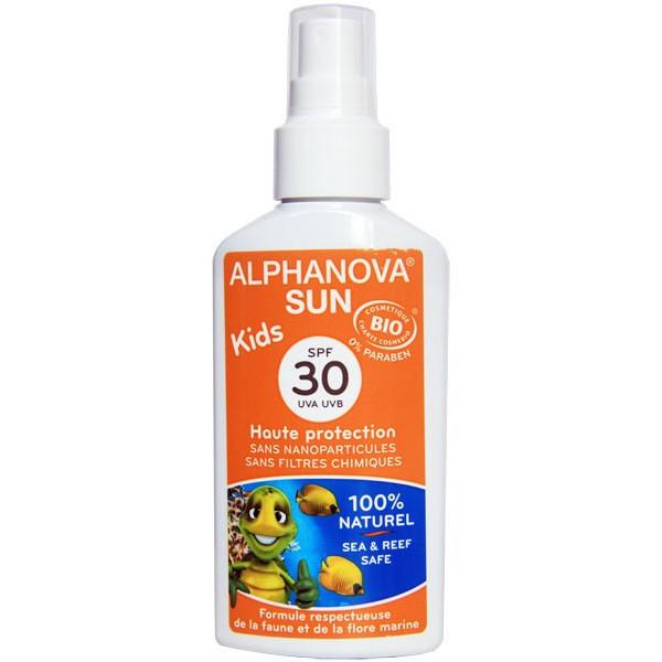 Soins protection solaire Kids – SPF 30 haute protection - 125g – Alphanova Sun - Vue 1