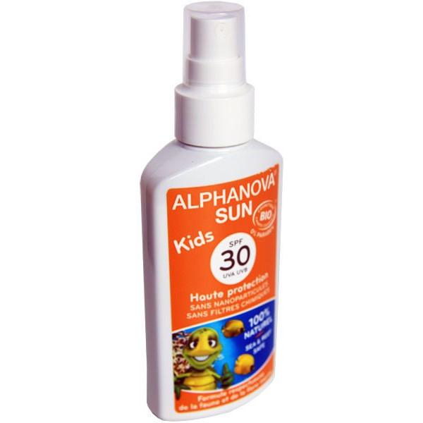 Soins protection solaire Kids – SPF 30 haute protection - 125g – Alphanova Sun - Vue 2
