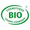 Logo Cosmebio pour le soin protection solaire Kids – SPF 30 haute protection - 125g – Alphanova Sun