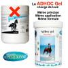 Changement d'emballage pour l'insectifuge gel longue durée pour chevaux, poneys et autres animaux – 600gr – Adhoc