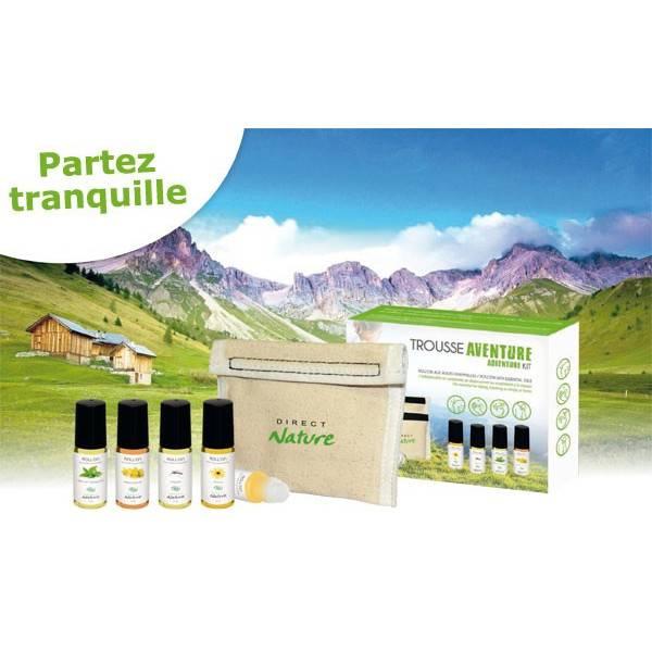 Trousse Aventure avec 4 Roll'on aux huiles essentielles - Vue 2