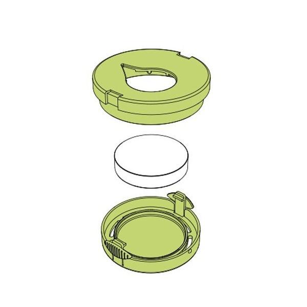 Détail Recharges céramiques Pluglia Alizée