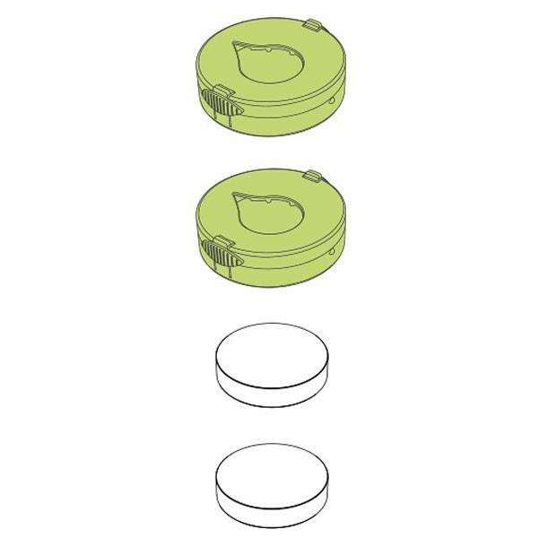 Détail Recharges céramiques Pluglia Alizée - Vue 1
