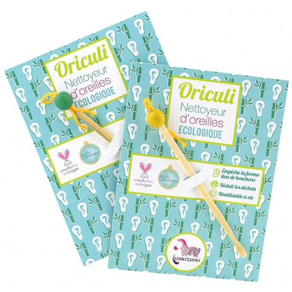 Oriculi : Cure-oreilles écologique en bambou - Lamazuna - Vue 2