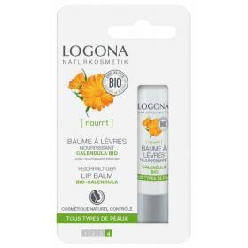 Nouvel emballage baume à lèvres Calendula Bio – 4,5gr – Logona